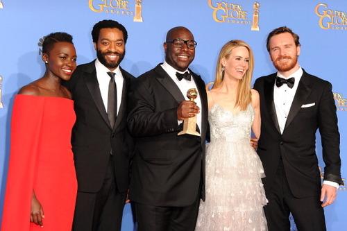 71st Annual Golden Globe Awards - Press Room