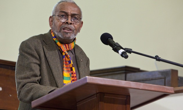 Amiri Baraka Giving Speech