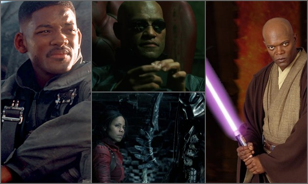 Black Sci Fi Characters