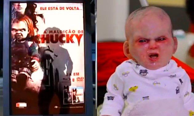 Chucky vs Devil Baby