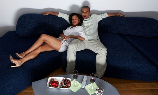 Couple On Couch (legs)