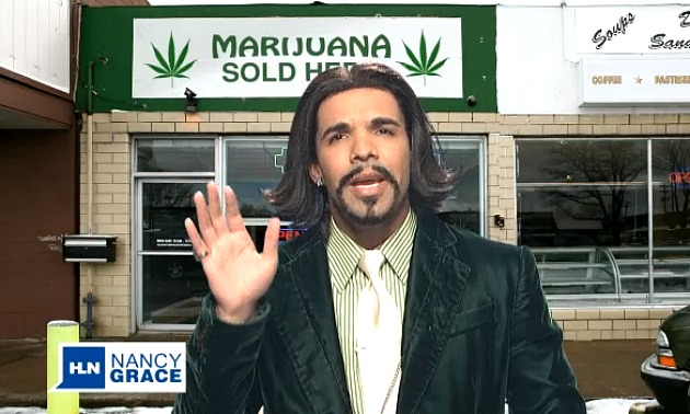 Drake as Katt Williams on SNL