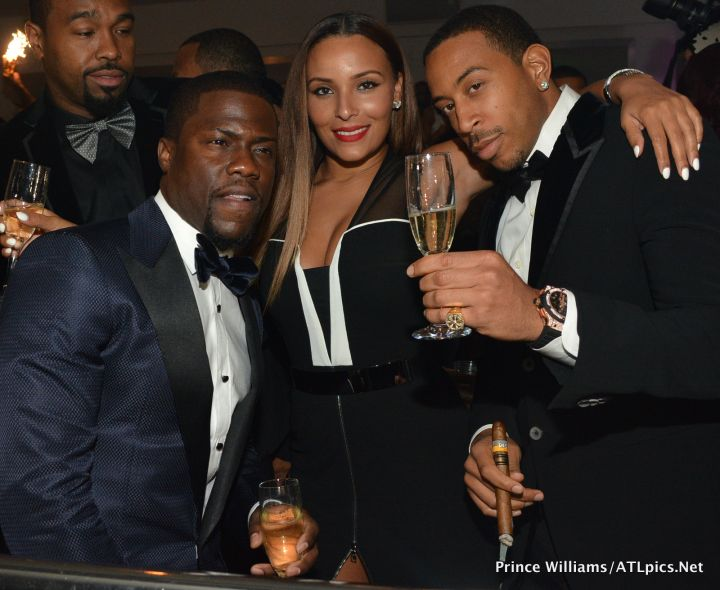 Kevin Hart With Ludacris and Eudoxie
