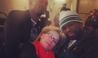photo of Meryl Streep, Kobe, and 50 Cent