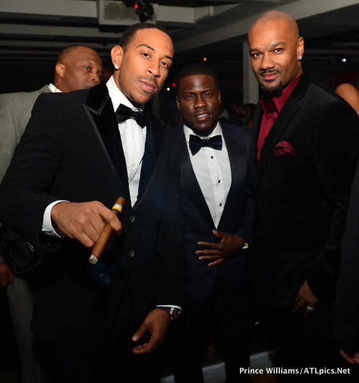 Ludacris Kevin Hart and Big Tigger