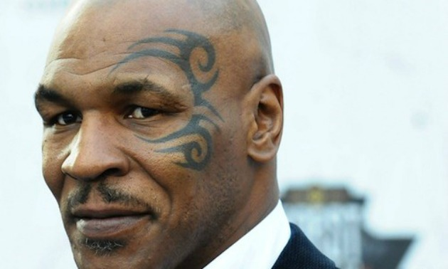 MIKE TYSON RED CARPET