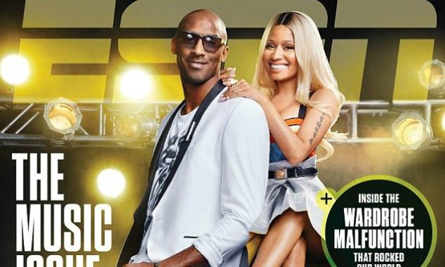 Nicki Minaj and Kobe Bryant's ESPN Magazine Cover