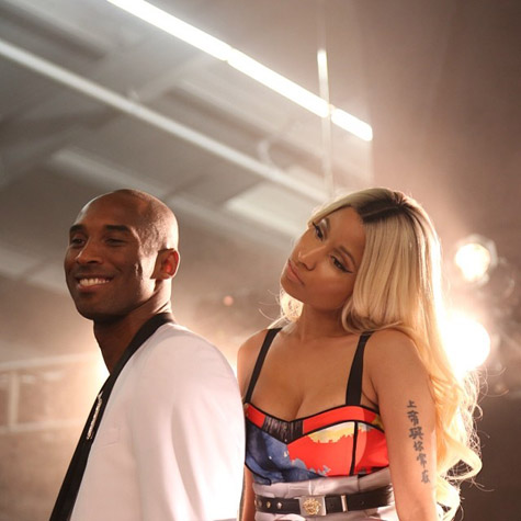 Nicki & Kobe Not Retouched