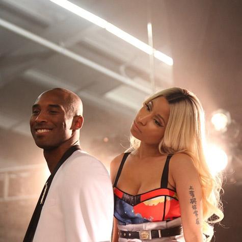 Nicki & Kobe Not Retouched