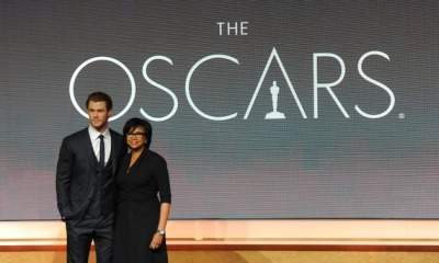 Chris Hemsworth announced the nominations for the 2014 Oscars