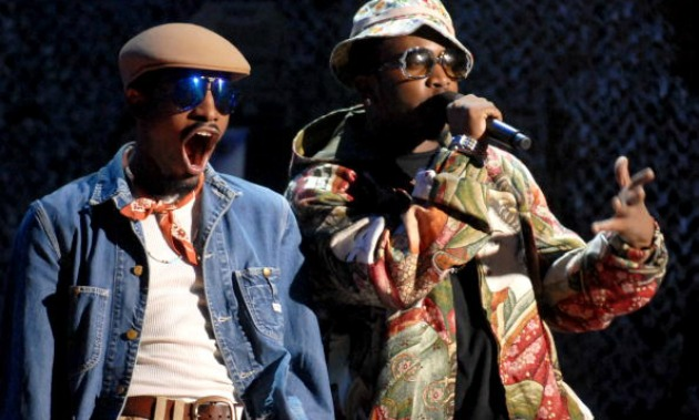 Outkast on stage