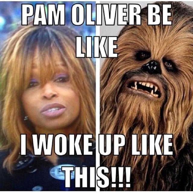 Pam Oliver Meme