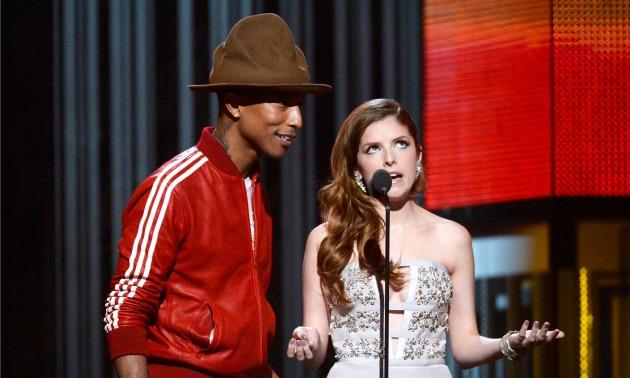 Pharrell Grammys hat