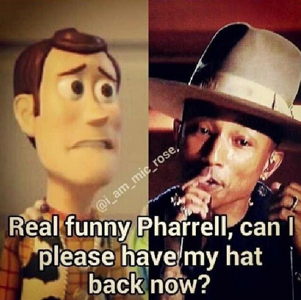 Pharrell Hat Meme