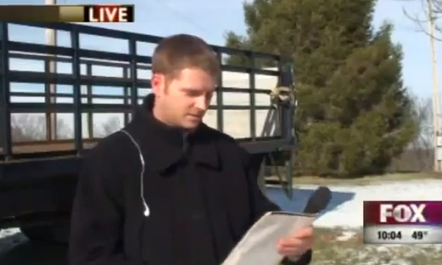 News reporter Gets Fired