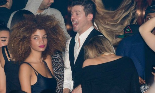 Robin Thicke Cheating 2