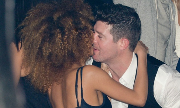 Robin Thicke Cheating 3
