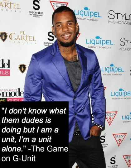 The Game Pull Quote