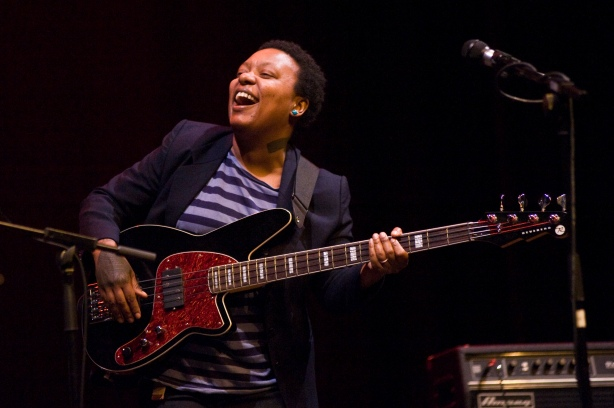 Meshell Ndegeocello Performs In Badalona