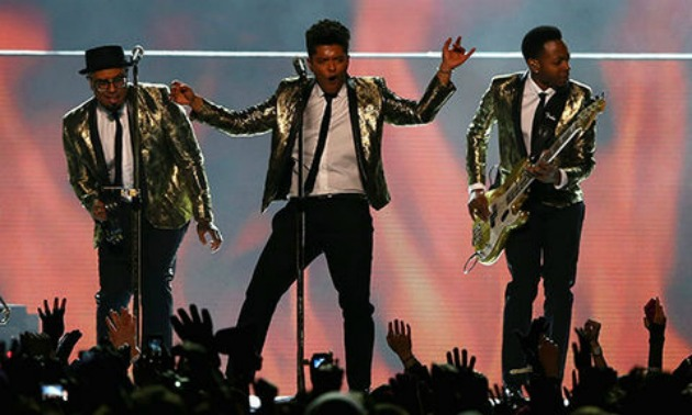 Bruno Mars Halftime Show