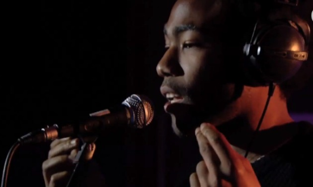 Childish Gambino performing