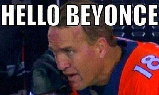 hello beyonce peyton
