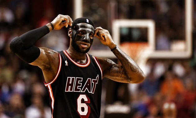 Lebron James Black Mask