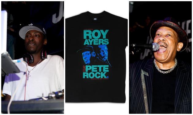 Pete Rock Roy Ayers T-shirt