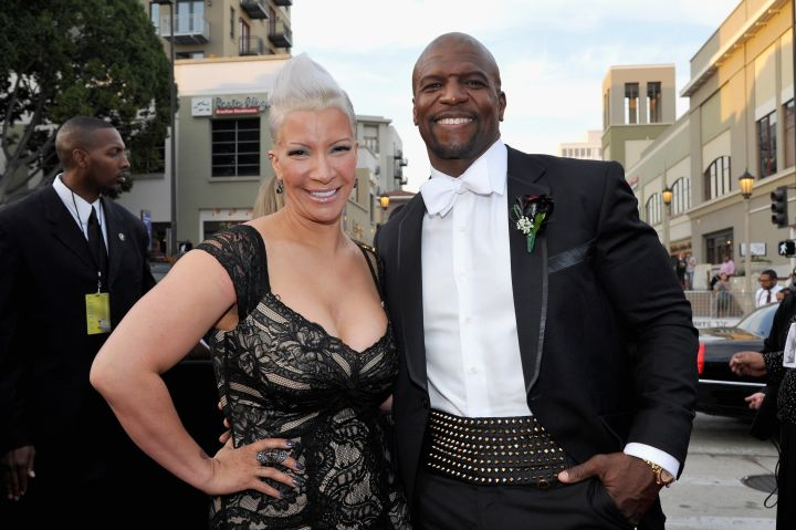 Terry Crews and his wife Rebecca King Crews
