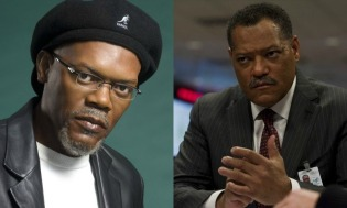 Samuel Jackson and Laurence Fishburne