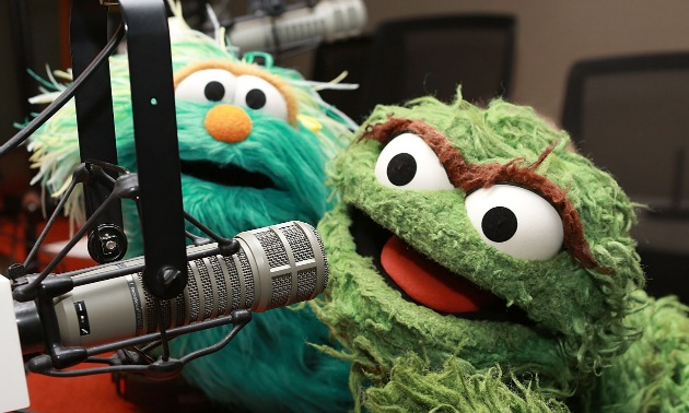 Sesame Street on the air
