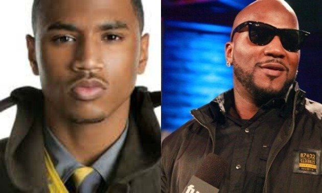 Trey Songz Jeezy Split Screen