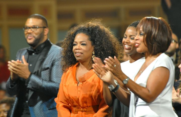 Tyler Perry Oprah Winfrey and Gayle King