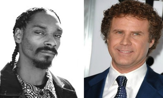Will Ferrell Snoop Dogg Split Screen