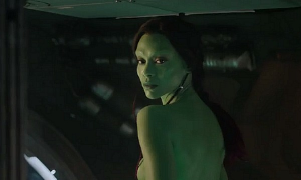 Zoe Saldana Gaurdians of The Galaxy