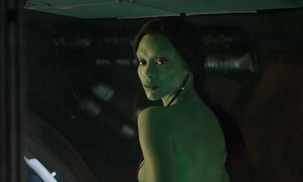 Zoe Saldana Gaurdians of The Galaxy