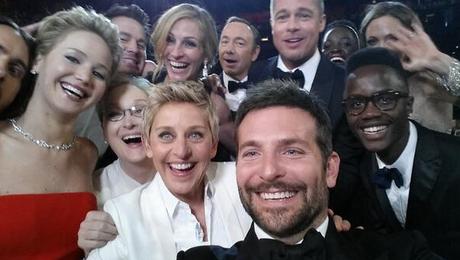 ellen deneres selfie oscars