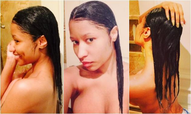 Nicki Minaj selfies