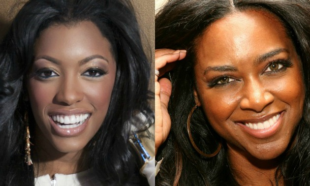 did porsha williams beat the brakes off kenya moore at the. Black Bedroom Furniture Sets. Home Design Ideas