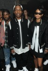 A$AP Rocky And Chanel Iman