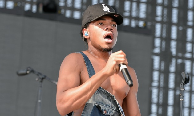 chance the rapper getty