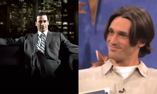 Jon Hamm Dating Show Hair
