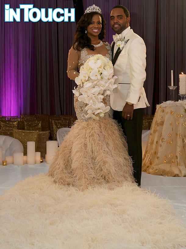 Kandi Burruss Todd Tucker Wedding pic