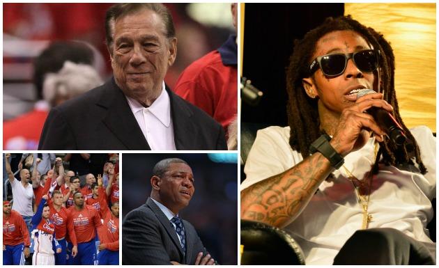 Lil Wayne LA Clippers Donald Sterling