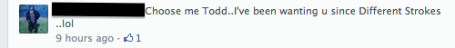 todd bridges thirsty comment 2