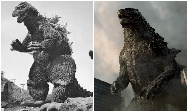 godzilla gojira stripped It's been four long years since godzilla last appeared in a blockbuster summer movie, but the people of earth haven't forgotten and now a fiery first photo of the kaiju from next summer's godzilla: king of the monsters reminds us that gojira is always dangerously lurking.