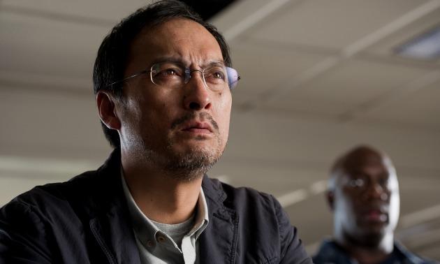 Ken Watanabe interpreta a Ishiro Serizawa, basado en el científico de la primera película, (aunque su primer nombre es en honor a Ishiro Honda, director de la primera película de Godzilla)