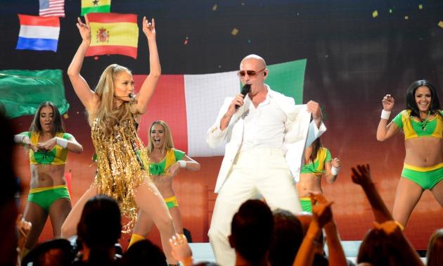 Pitbull and J Lo