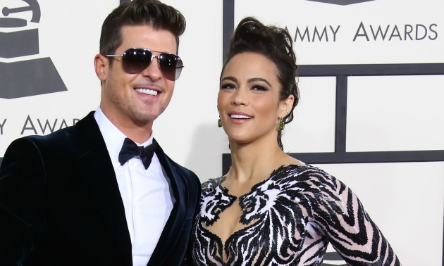 Paula Patton gives Robin Thicke the boot