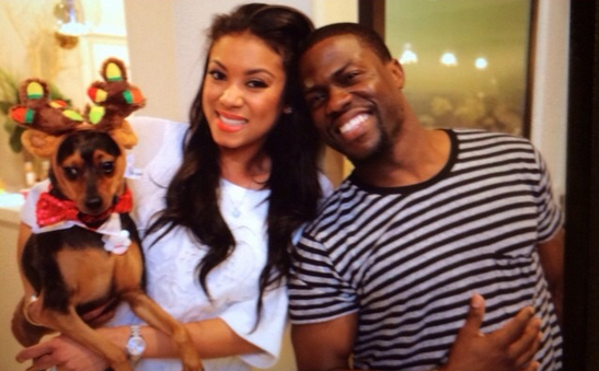 Eniko Parrish, Kevin Hart's Girlfriend